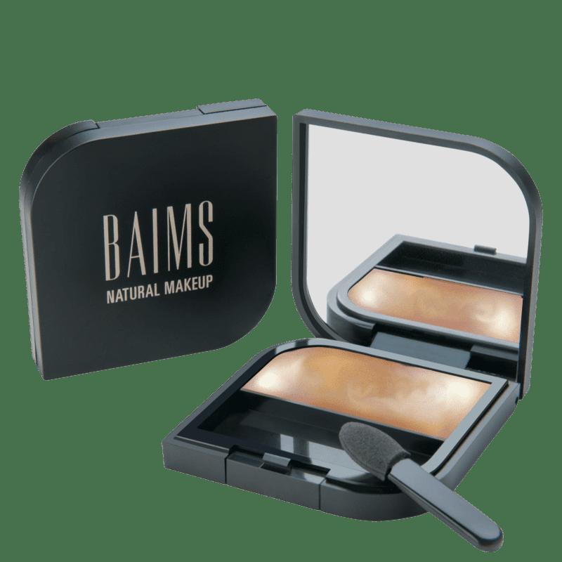 BAIMS Minimalist Cheeks + Lips + Eyes 40 Sunset - Iluminador, Sombra e Batom 3,5g