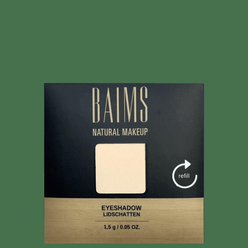 BAIMS Eyeshadow Refil 10 Ivory - Sombra 1,4g