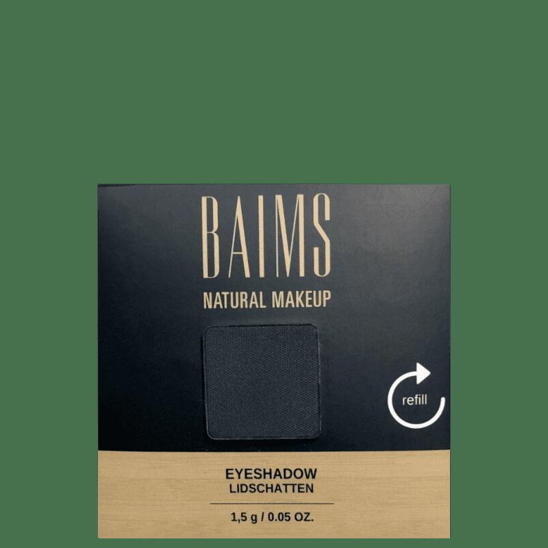 BAIMS Eyeshadow Refil 100 Back to Black - Sombra 1,4g