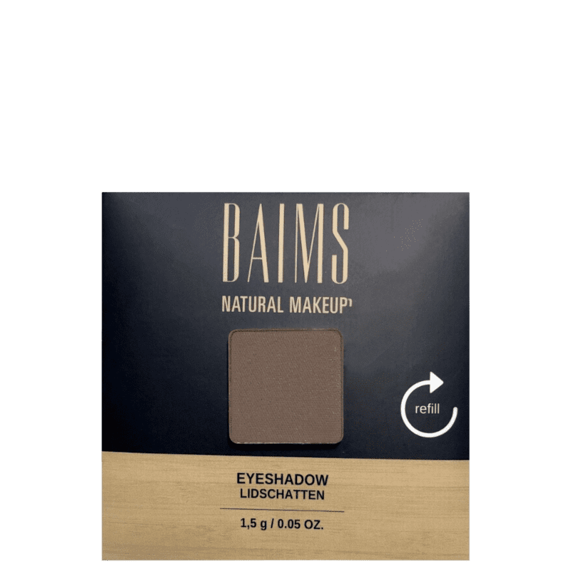 BAIMS Eyeshadow Refil 50 Brown - Sombra 1,4g