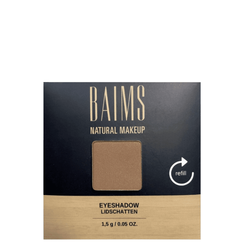 BAIMS Eyeshadow Refil 55 Earth - Sombra 1,4g