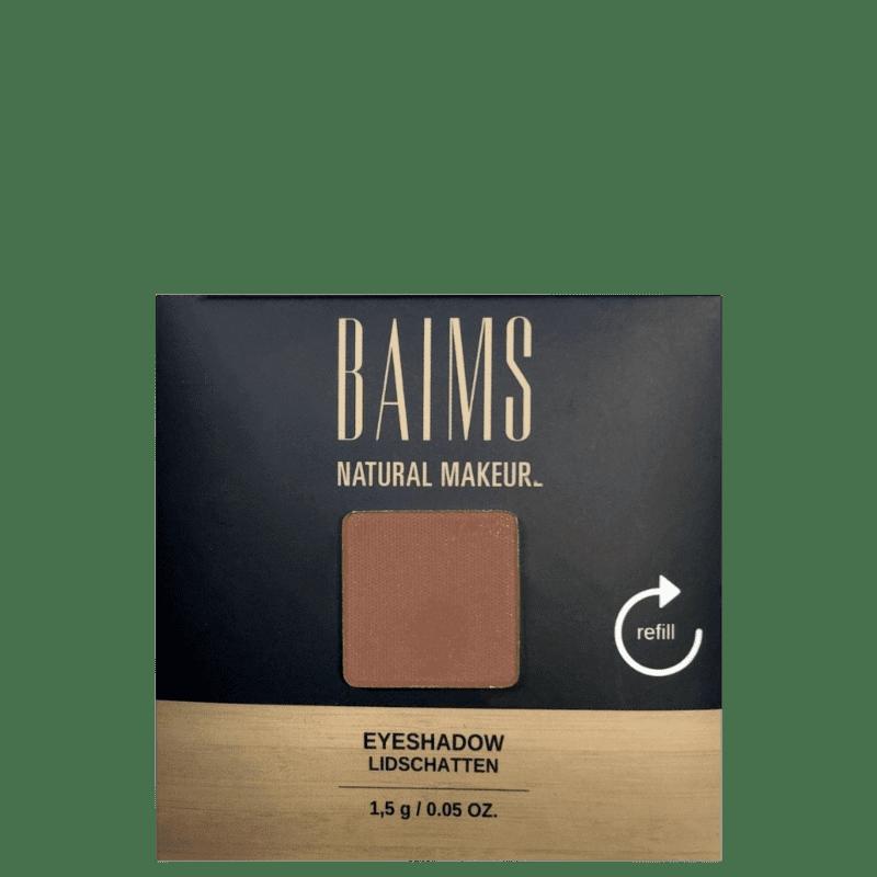 BAIMS Eyeshadow Refil 60 Chocolate - Sombra 1,4g