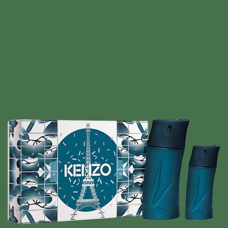 Conjunto Homme Kenzo Masculino - Eau de Toilette 100ml + Eau de Toilette 30ml