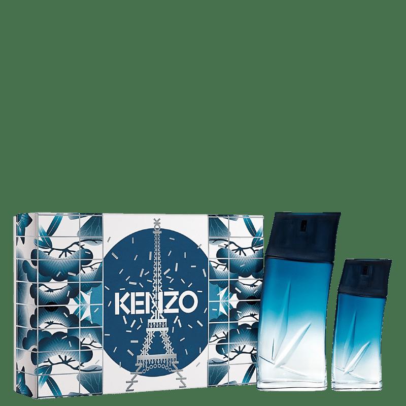 Conjunto Homme Kenzo Masculino - Eau de Parfum 100ml + Eau de Parfum 30ml
