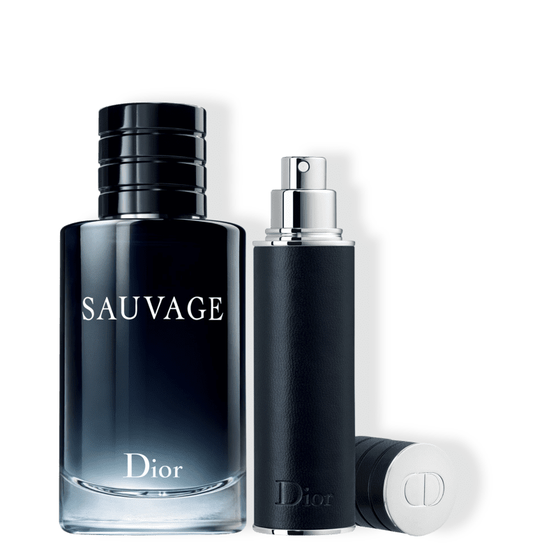 Conjunto Sauvage Dior Masculino - Eau de Toilette 100ml + Travel Size 10ml