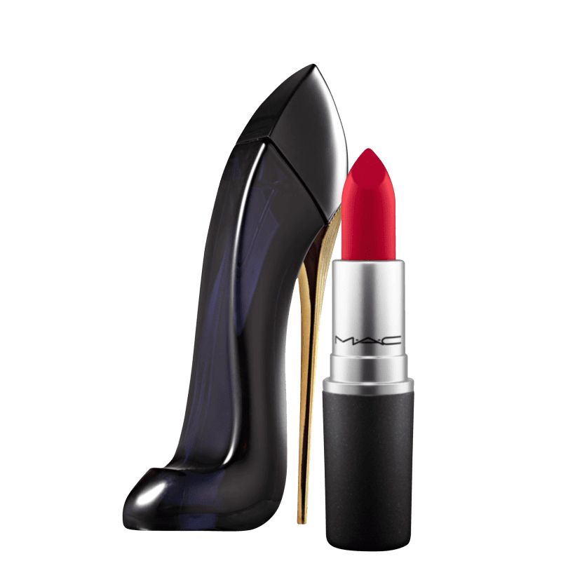 Kit Beleza na Web Carolina Herrera Good Girl & M·A·C Retro Matte