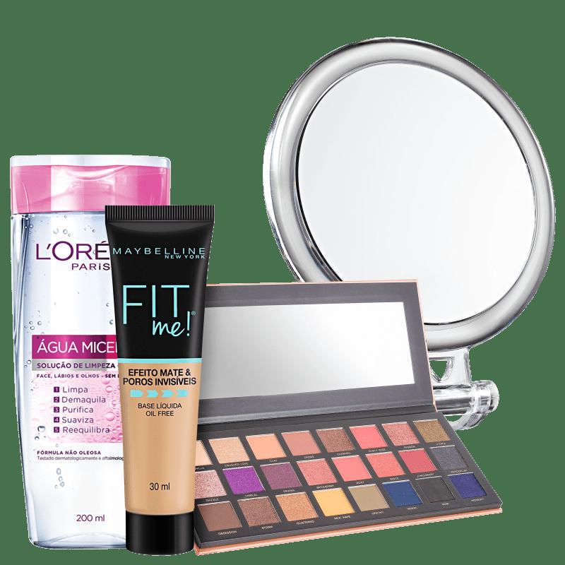 Kit Beleza na Web Makeup Mirror (4 Produtos)