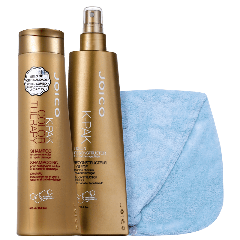 Kit Beleza na Web Joico K-PAK & Océane Dry My Hair (3 Produtos)