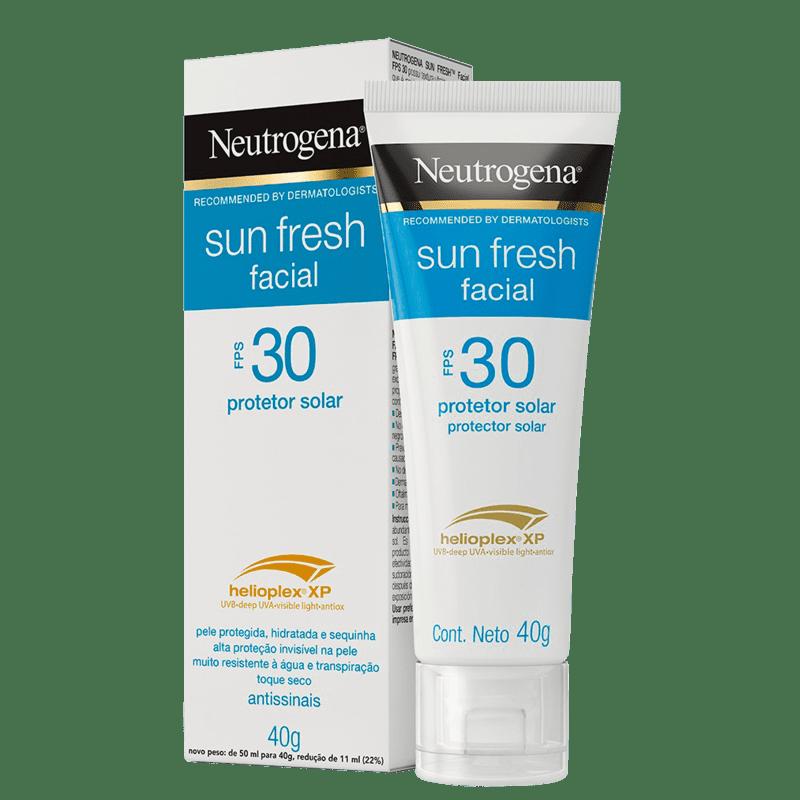Neutrogena Sun Fresh Facial FPS 30 - Protetor Solar Facial 40ml