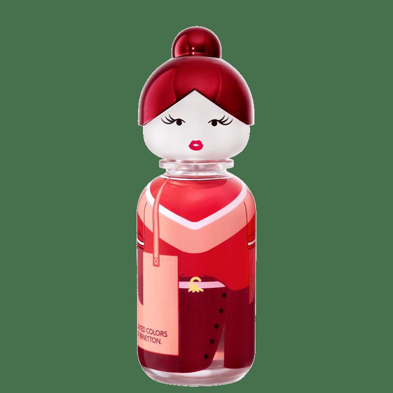 Sisterland Red Rose Benetton Eau de Toilette - Perfume Feminino 80ml