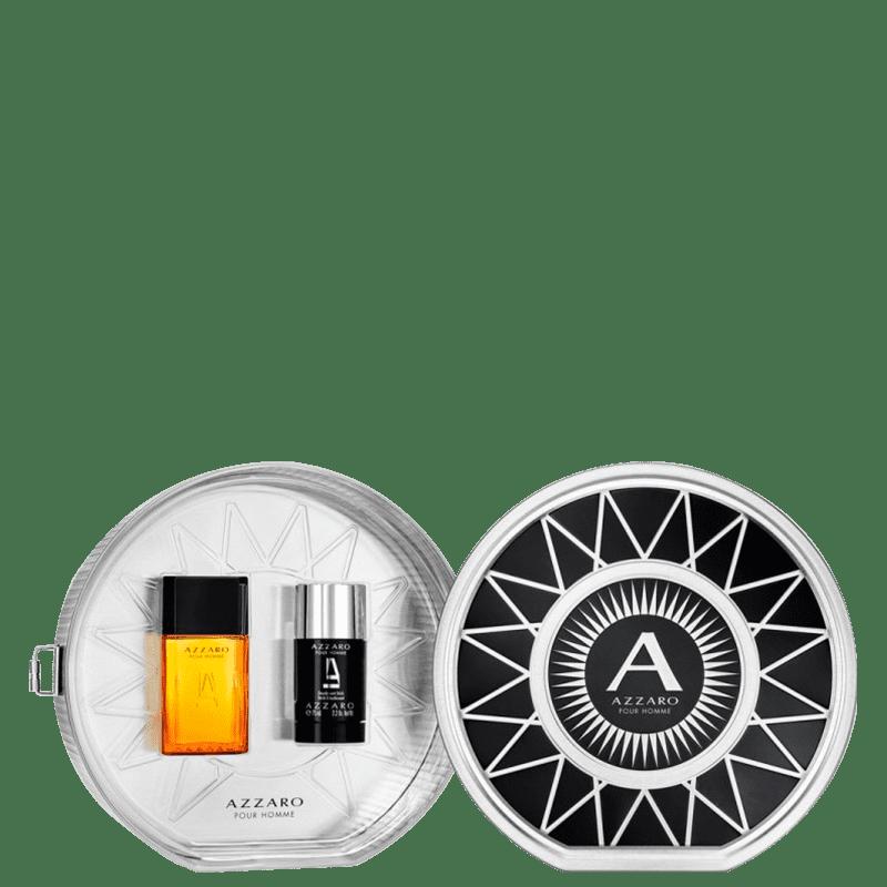 Conjunto Azzaro Pour Homme Masculino - Eau de Toilette 50ml + Desodorante 75ml