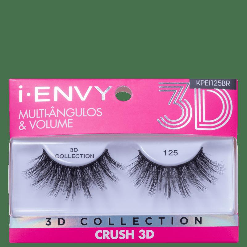 Kiss New York i-Envy Crush 3D Collection 125 - Cílios Postiços
