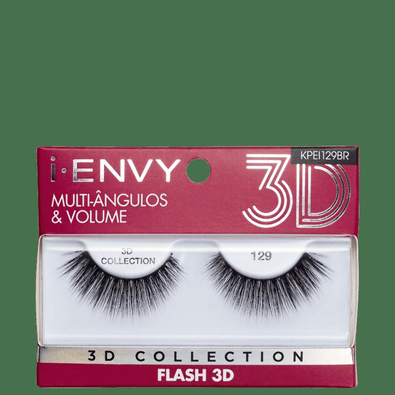 Kiss New York i-Envy Flash 3D Collection 129 - Cílios Postiços