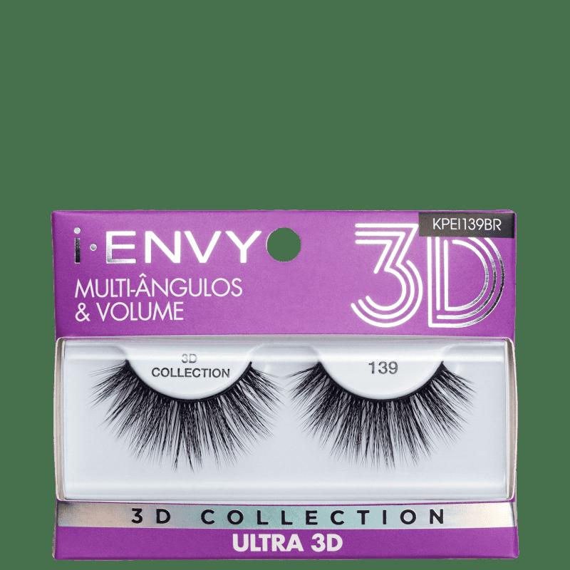 Kiss New York i-Envy Ultra 3D Collection 139 - Cílios Postiços