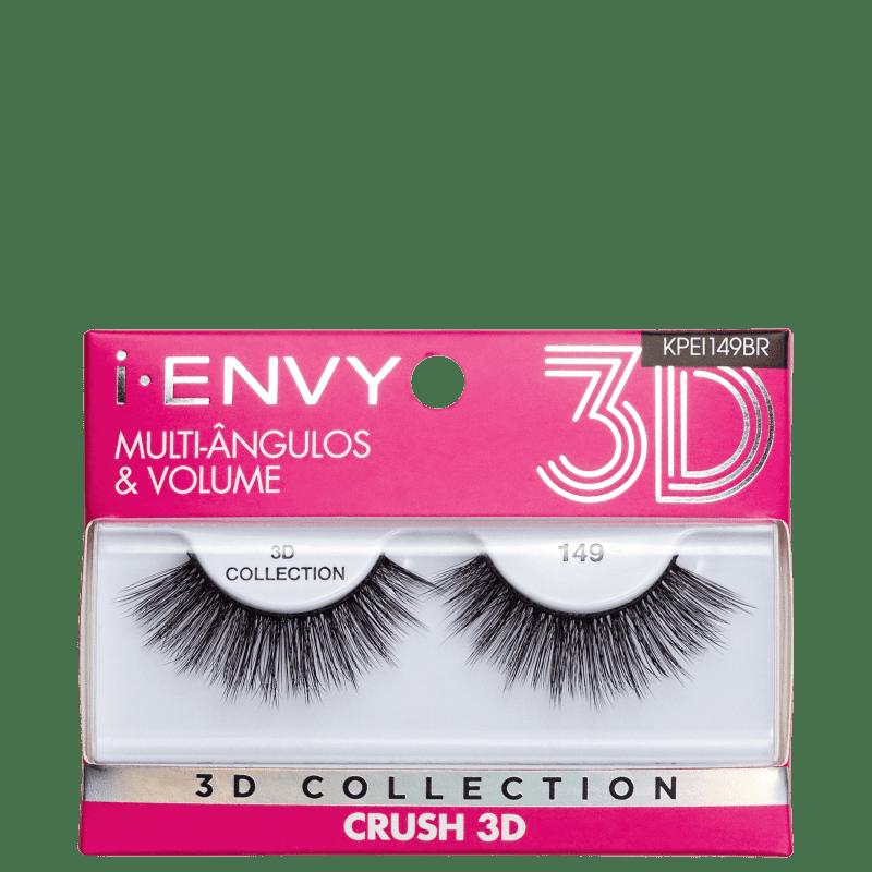 Kiss New York i-Envy Crush 3D Collection 149 - Cílios Postiços