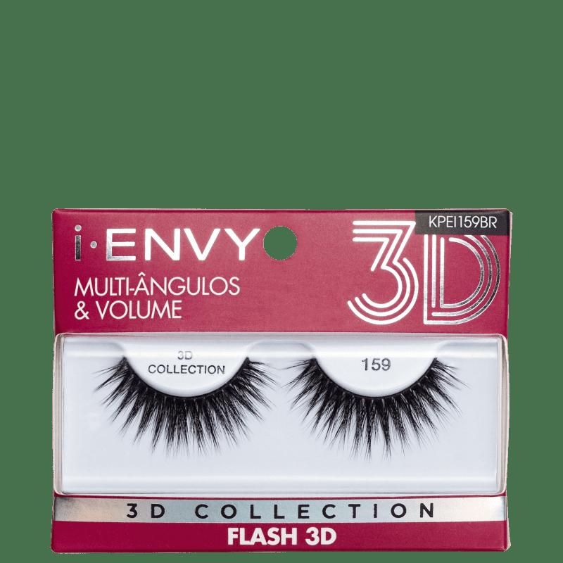 Kiss New York i-Envy Flash 3D Collection 159 - Cílios Postiços
