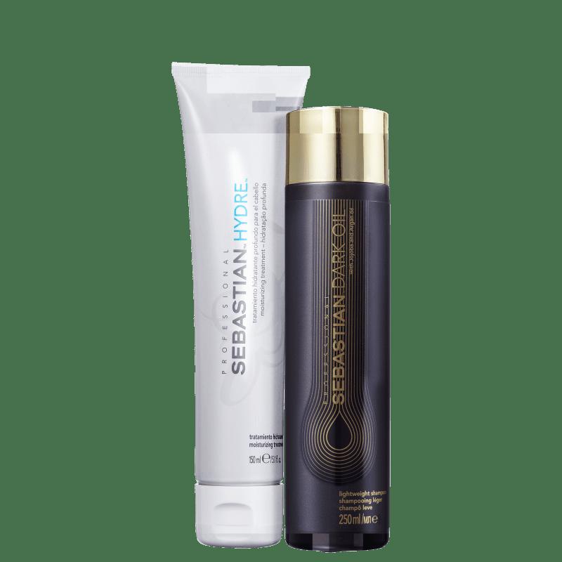 Kit Sebastian Professional Dark Oil & Hydre (2 Produtos)