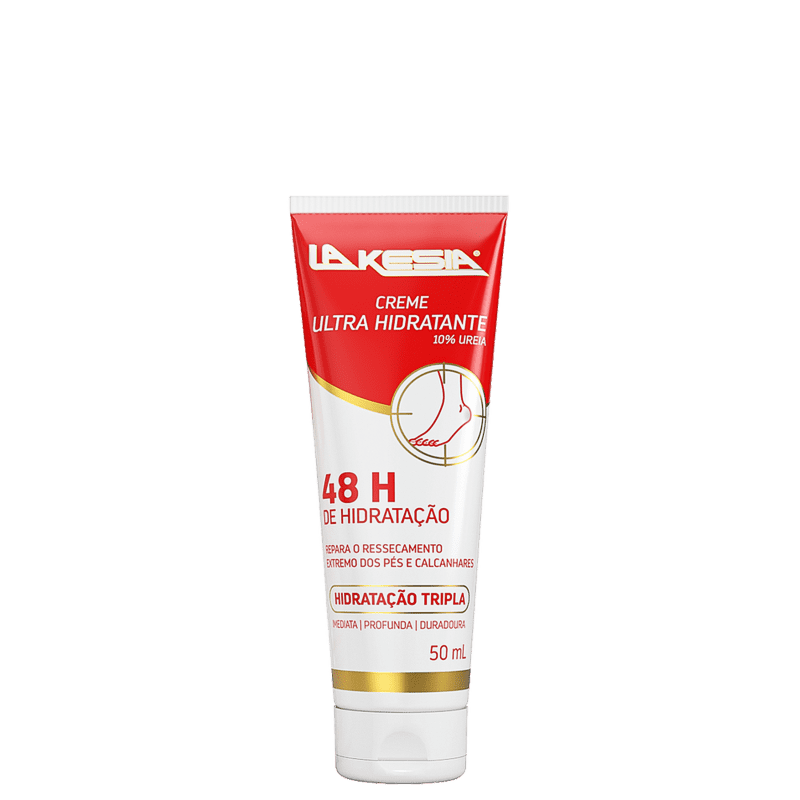 LaKesia Ultra Hidratante 10% Ureia - Creme para os Pés 50ml