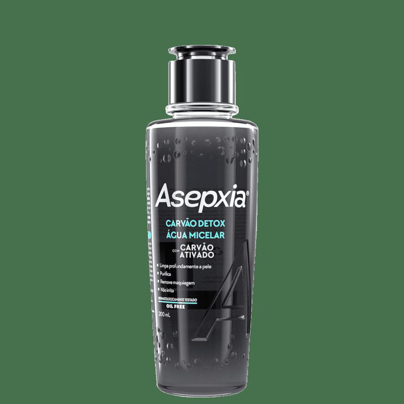 Asepxia Carvão Detox - Água Micelar 200ml