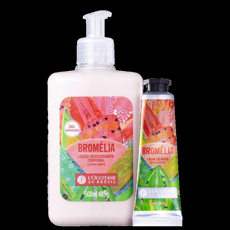 Kit L'Occitane au Brésil Bromélia Hidratantes (2 Produtos)