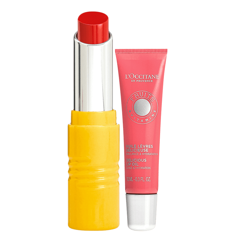 Kit L'Occitane en Provence Fruits & Vitamine Red Coral (2 Produtos)