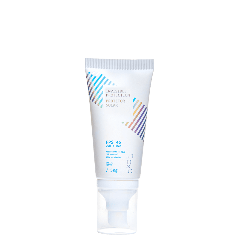 Skelt Invisible Protection FPS 45 - Protetor Solar Facial 50g