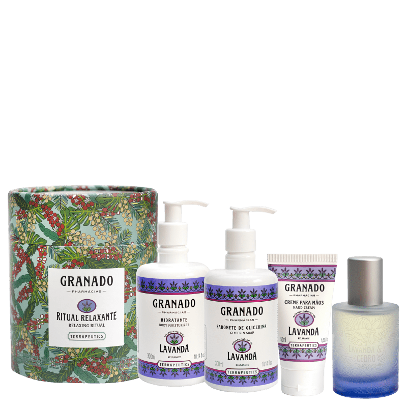 Kit Granado Terrapeutics Lavanda Ritual Relaxante (4 Produtos)