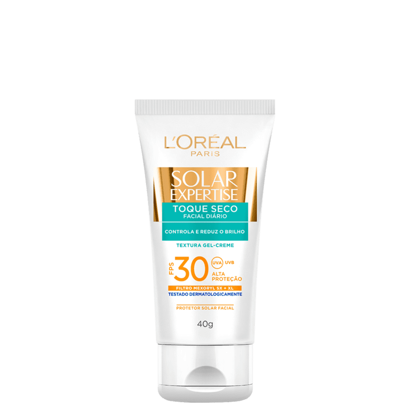 L'Oréal Paris Solar Expertise Toque Seco FPS 30 - Protetor Solar Facial 40g