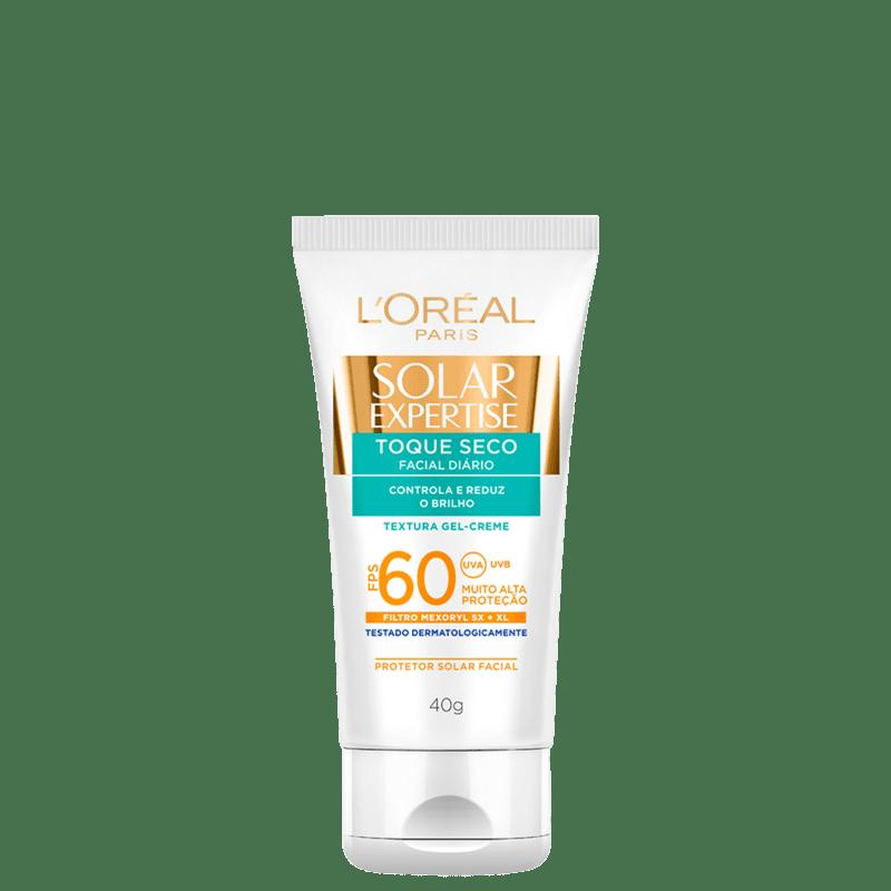 L'Oréal Paris Solar Expertise Toque Seco FPS 60 - Protetor Solar Facial 40g