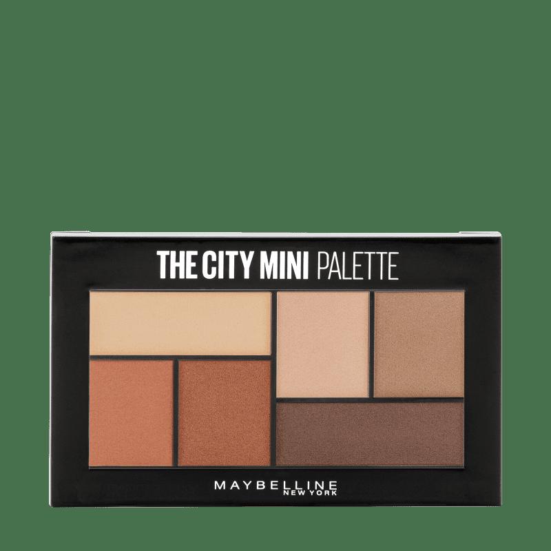 Maybelline The City Mini Brooklyn Nudes - Paleta de Sombras 4g