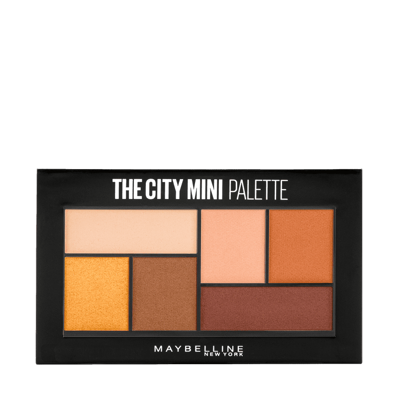 Maybelline The City Mini Hi Rise Sunset - Paleta de Sombras 4g