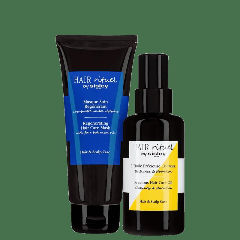Kit Sisley Hair Rituel Precious Regenerating Hair Care (2 Produtos)