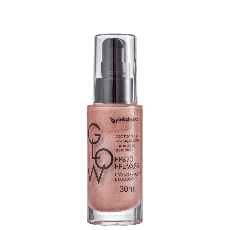 Pink Cheeks Glow FPS 70 Rose Gold - Primer Multifuncional 30ml