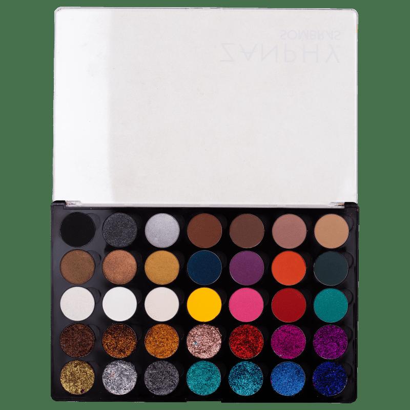 Zanphy 35 Cores 02 - Paleta de Sombras 30g