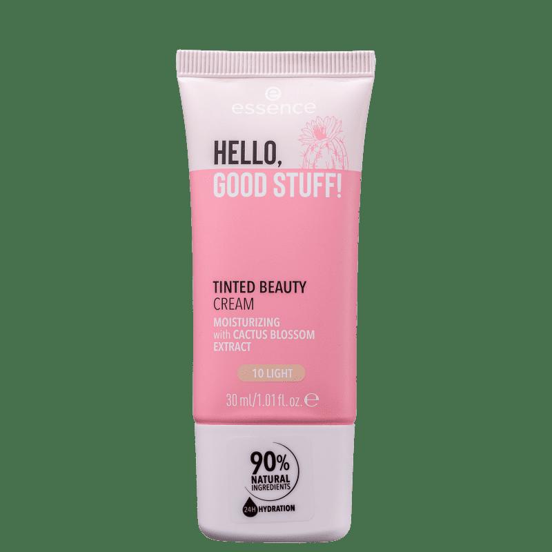 Essence Hello, Good Stuff! 10 Light - Creme Hidratante Facial com Cor 30ml