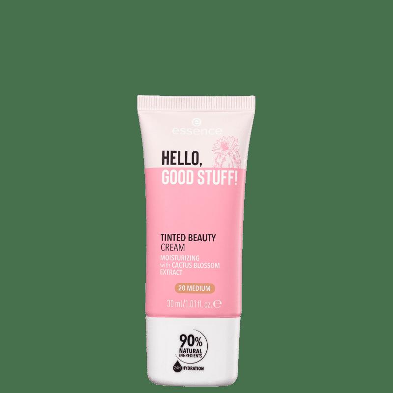 Essence Hello, Good Stuff! 20 Medium - Creme Hidratante Facial com Cor 30ml