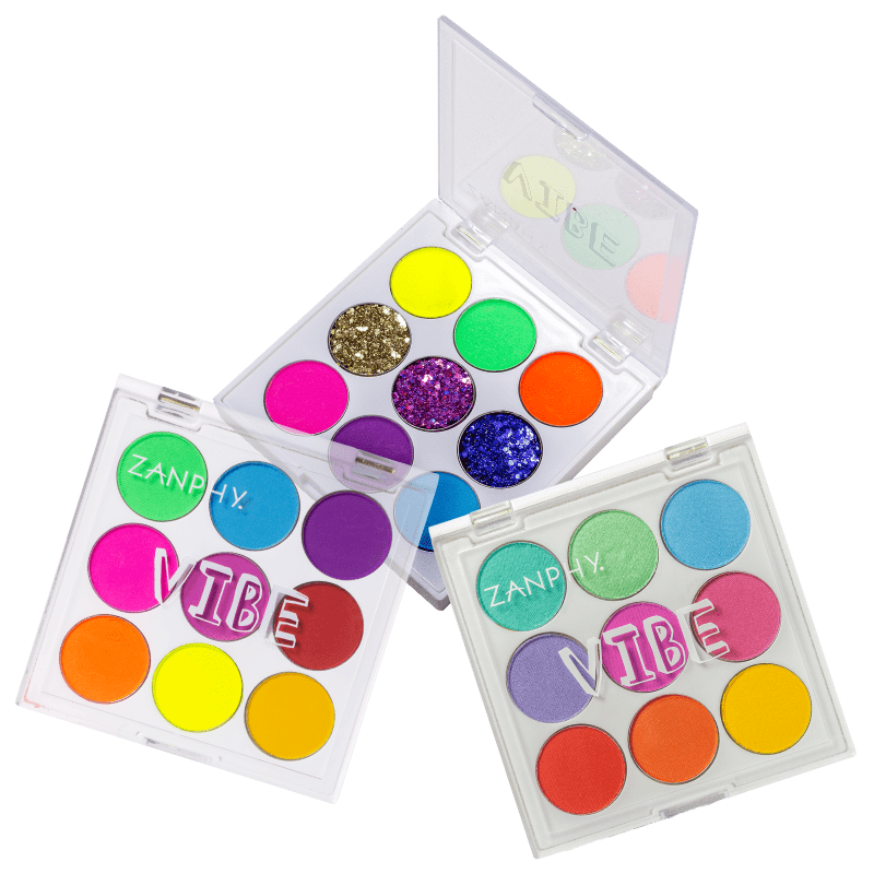 Kit Zanphy Trio de Sombras Extra Color (3 produtos)