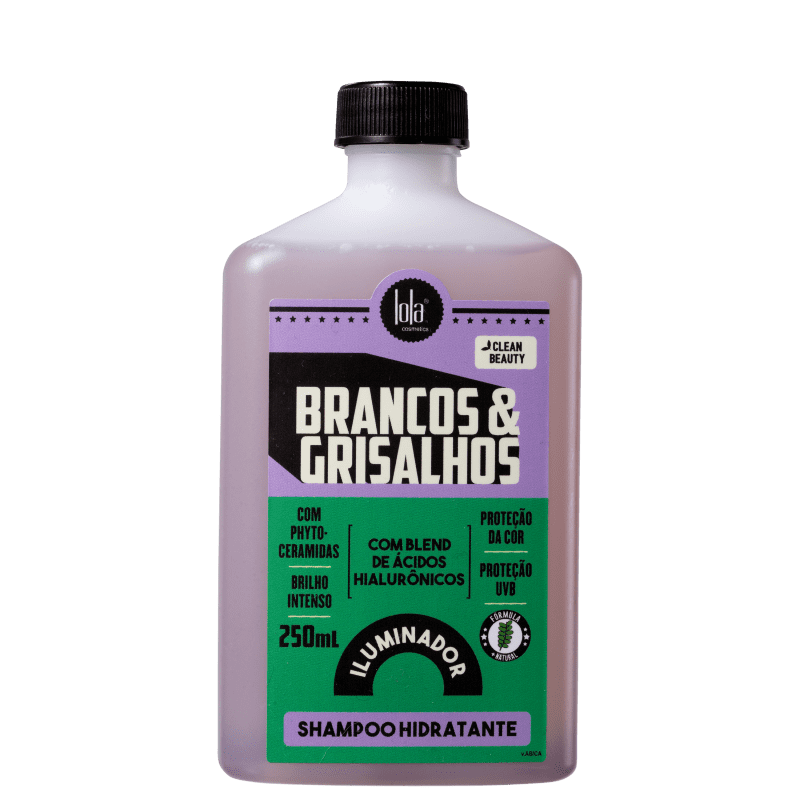 Lola Cosmetics Brancos & Grisalhos Hidratante - Shampoo 250ml