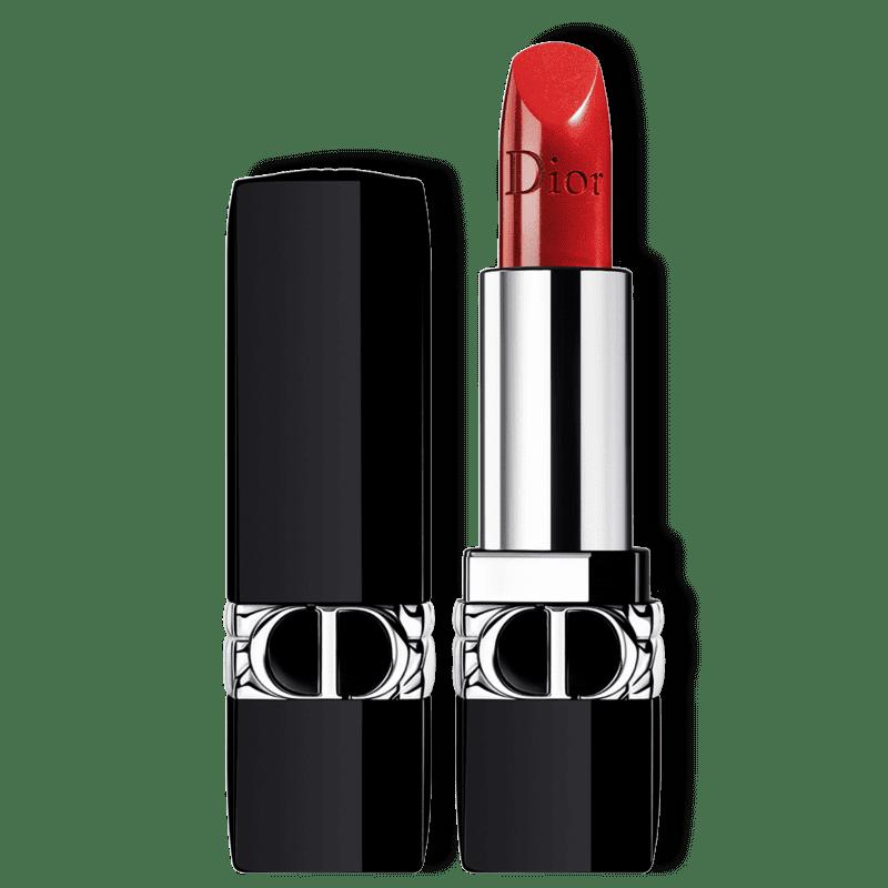 Dior Rouge 999 Metallic - Batom Metálico 3,5g
