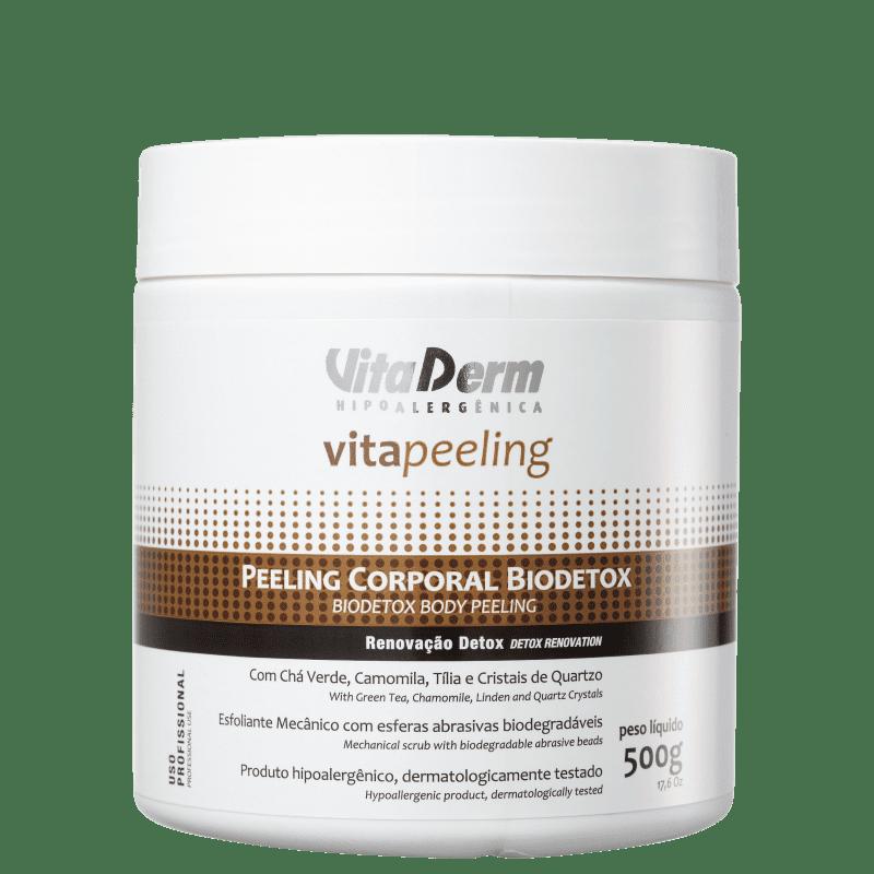 Vita Derm Vita Peeling Biodetox - Creme Esfoliante Corporal 500g