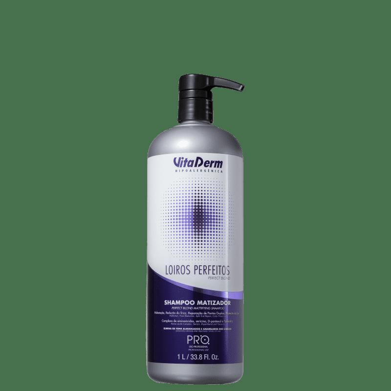 Vita Derm Loiros Perfeitos - Shampoo Matizador 1000ml
