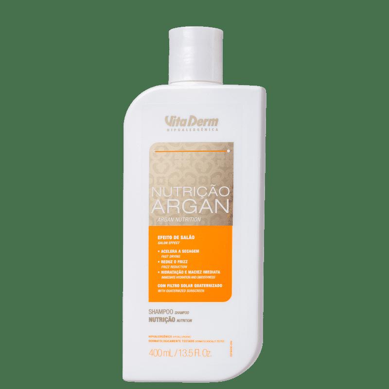 Vita Derm Nutrição Argan - Shampoo 400ml