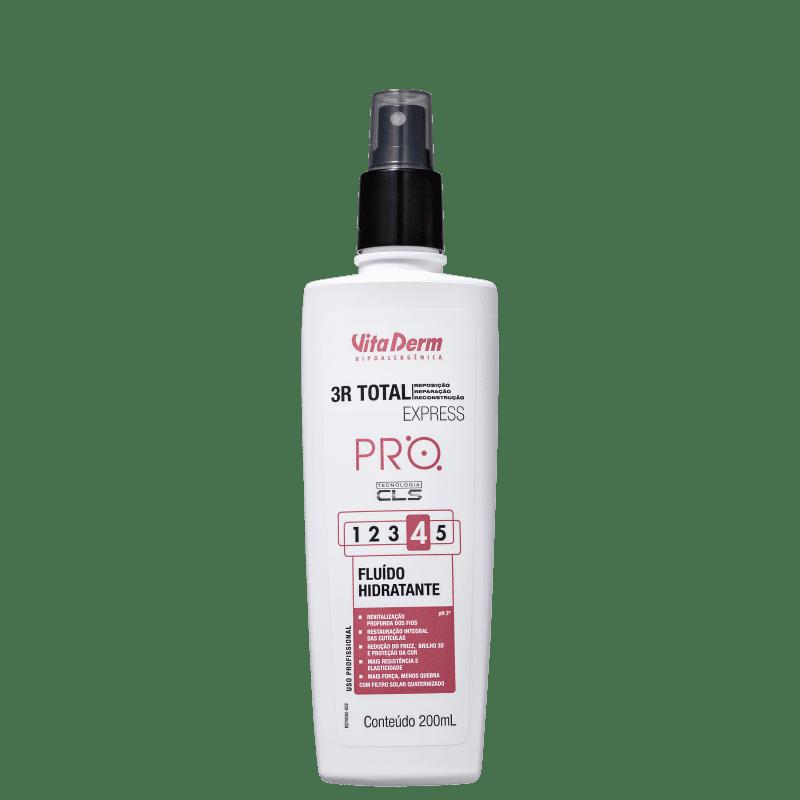 Vita Derm SOS Capilar 3R Total Express Fluído Hidratante 4 - Leave-in 200ml