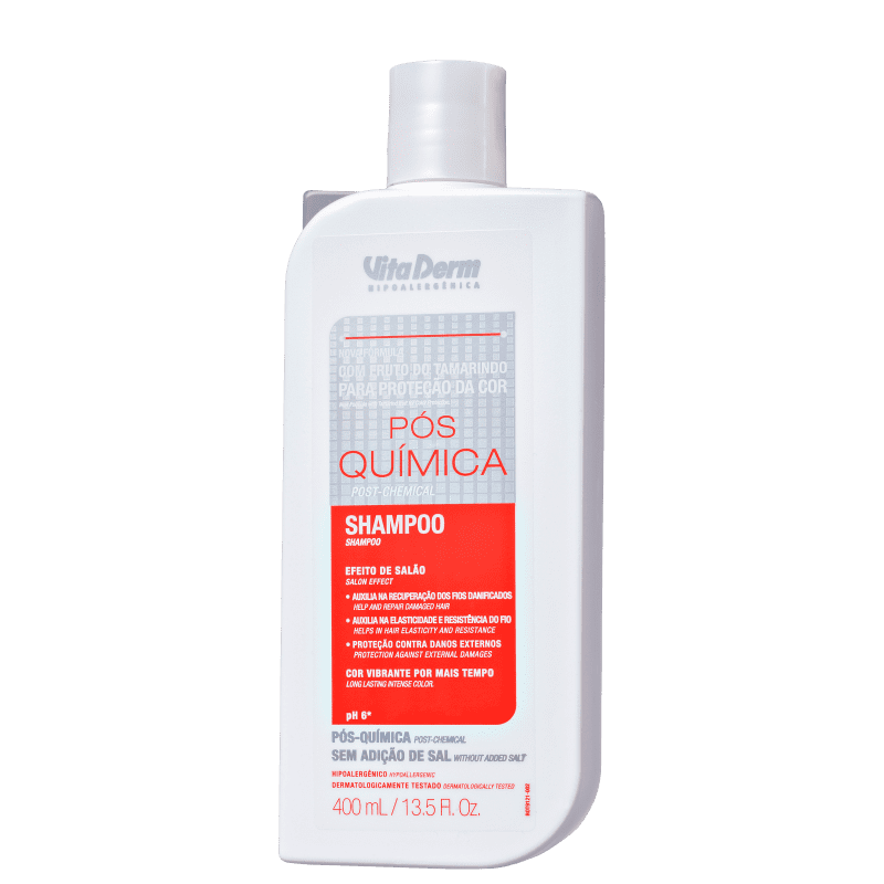 Vita Derm Pós Química - Shampoo 400ml