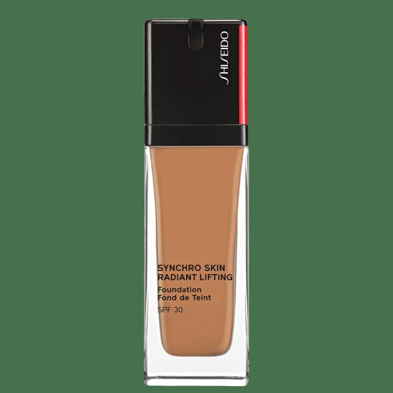 Shiseido Synchro Skin Radiant Lifting FPS 30 410 Sunstone - Base Líquida 30ml
