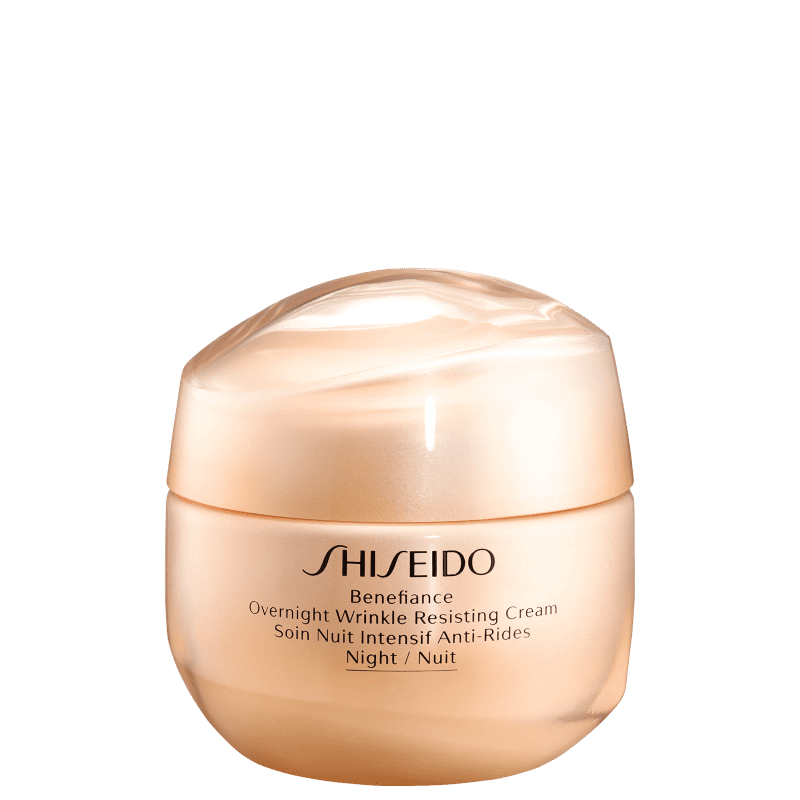 Shiseido Benefiance Overnight Wrinkle Resisting Cream - Creme Anti-Idade Noturno 50ml