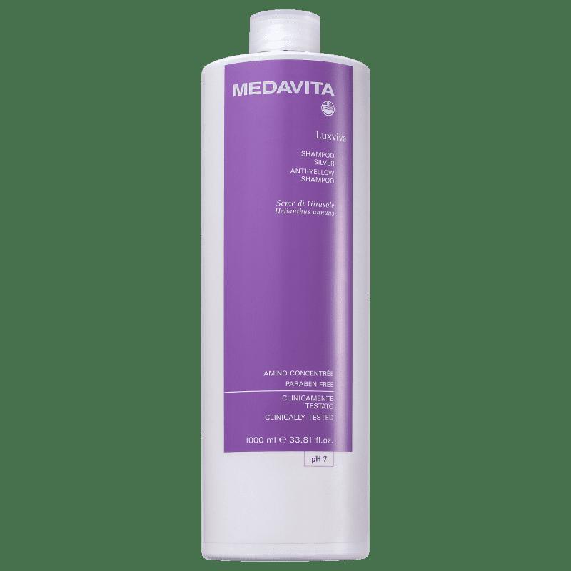 Medavita Luxviva - Shampoo Desamarelador 1000ml