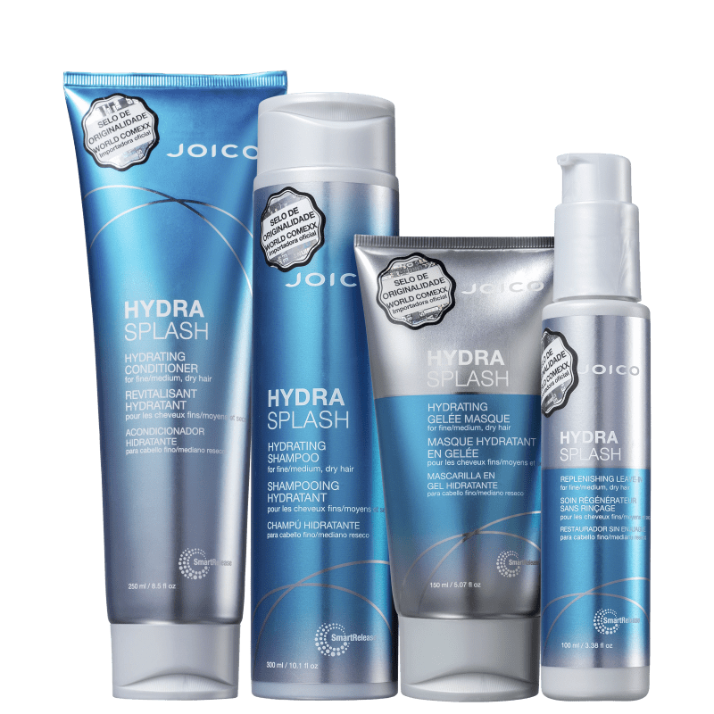 Kit Joico Hydra Splash Smart Release Full (4 Produtos)