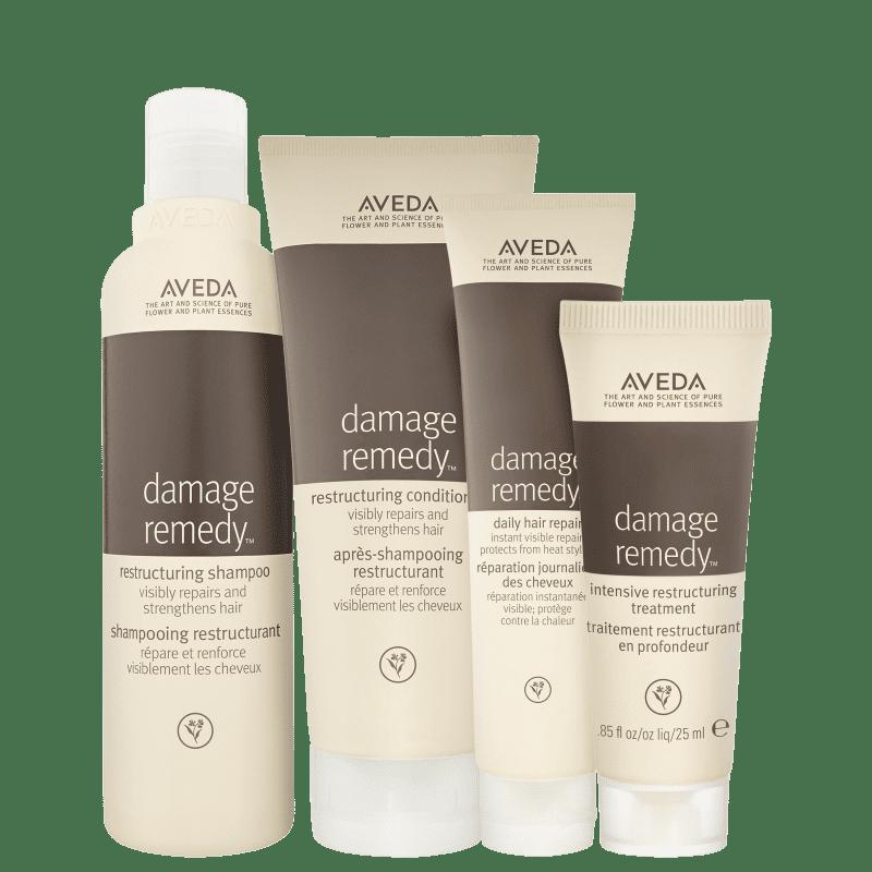 Kit Aveda Damage Remedy Quarteto (4 Produtos)