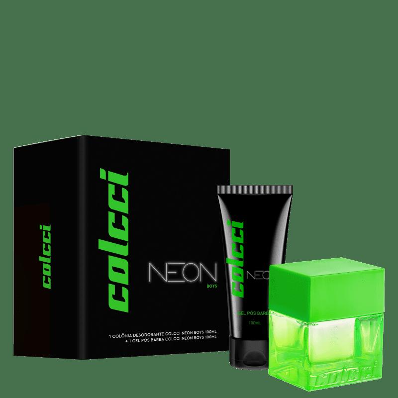 Conjunto Colcci Neon Boys Masculino - Deo Colônia 100ml + Gel Pós-Barba 100ml